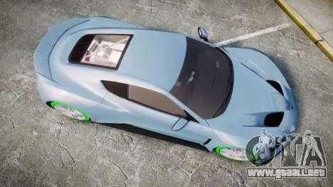 Zenvo ST1 2010 para GTA 4 visión correcta
