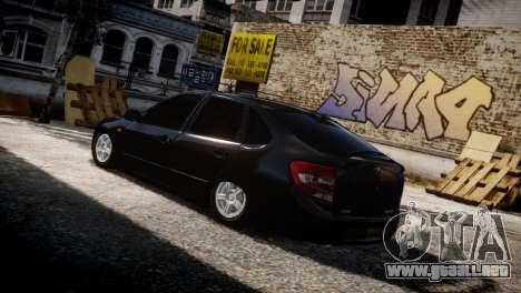 Lada Granta para GTA 4 vista lateral