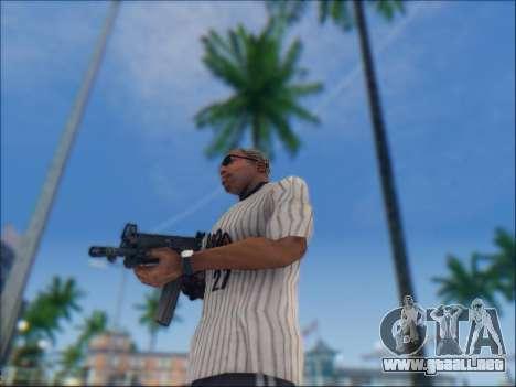 Israel carabina ACE 21 para GTA San Andreas séptima pantalla