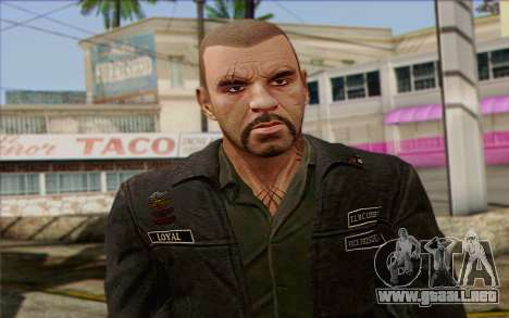 Johnny Klebitz From GTA 5 para GTA San Andreas tercera pantalla