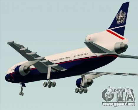 Lockheed L-1011 TriStar British Airways para la visión correcta GTA San Andreas