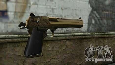 Graffiti Desert Eagle v2 para GTA San Andreas segunda pantalla