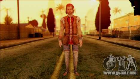 Ezio from Assassins Creed para GTA San Andreas
