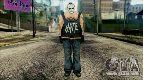 Manhunt Ped 11 para GTA San Andreas