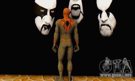 Skin The Amazing Spider Man 2 - Suit Assasin para GTA San Andreas sucesivamente de pantalla
