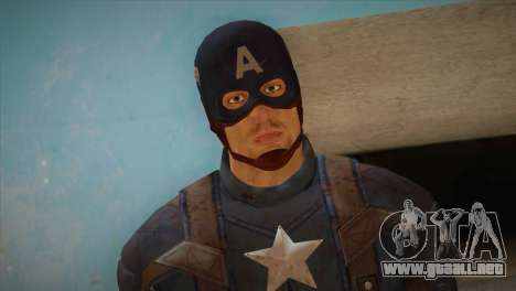 Captain America v1 para GTA San Andreas tercera pantalla