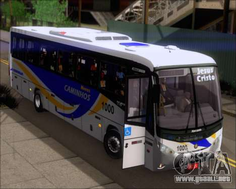 Marcopolo Ideale 770 - Volksbus 17-230 EOD para la vista superior GTA San Andreas