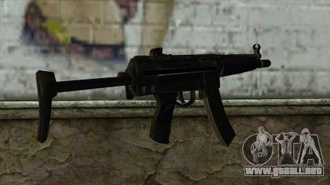 TheCrazyGamer MP5 para GTA San Andreas segunda pantalla