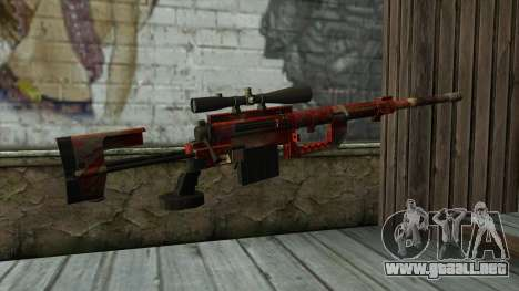 Sniper Rifle from PointBlank v3 para GTA San Andreas segunda pantalla