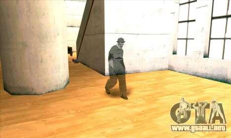 El Fantasma De Humo Grande para GTA San Andreas sucesivamente de pantalla