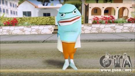 Blufish from Sponge Bob para GTA San Andreas