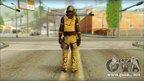 Mercenario (SC: Blacklist) v2 para GTA San Andreas segunda pantalla