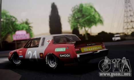 Buick Regal 1983 para GTA San Andreas left