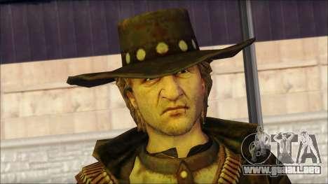 Ray McCall Gunslinger para GTA San Andreas tercera pantalla