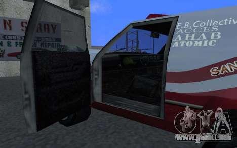 Actualizado Sandking para GTA San Andreas left
