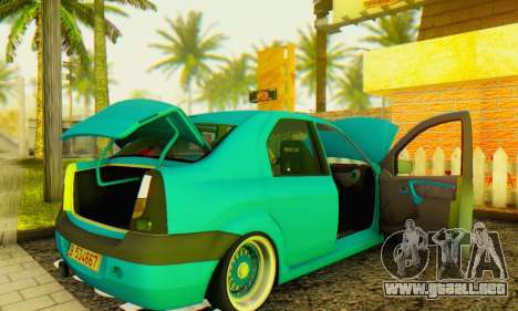 Dacia Logan Elegant para la visión correcta GTA San Andreas