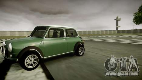 Mini Cooper RWD para GTA 4 left