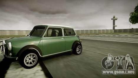 Mini Cooper RWD para GTA 4 left