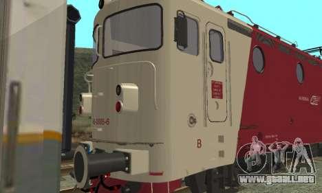 Le 3400Kw para GTA San Andreas vista posterior izquierda