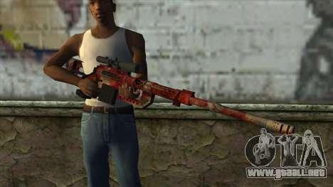 Sniper Rifle from PointBlank v3 para GTA San Andreas tercera pantalla