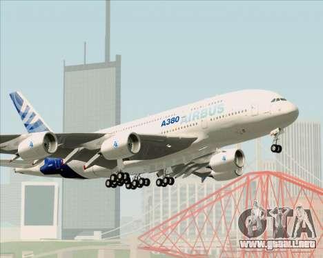 Airbus A380-861 para las ruedas de GTA San Andreas