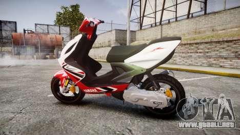 Yamaha Aerox para GTA 4 left