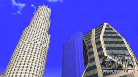 De texturas en HD de cuatro rascacielos en Los S para GTA San Andreas