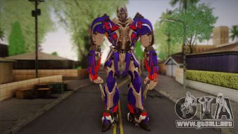 Optimus Prime para GTA San Andreas