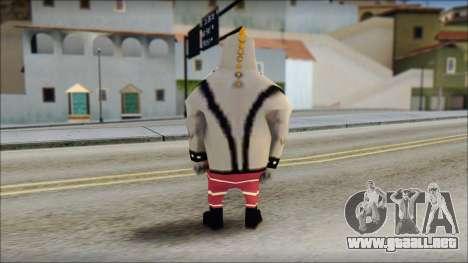 Bully from Sponge Bob para GTA San Andreas segunda pantalla
