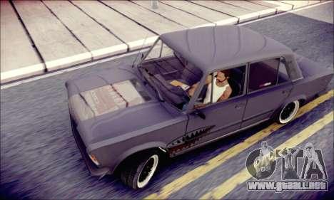 Fiat 125P Shark para GTA San Andreas vista hacia atrás