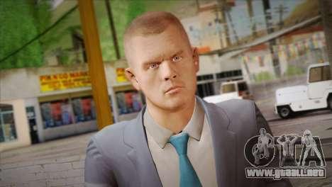 Hoxton From Pay Day 2 v2 para GTA San Andreas tercera pantalla