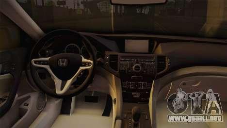 Honda Accord 2010 Hellaflush para la visión correcta GTA San Andreas
