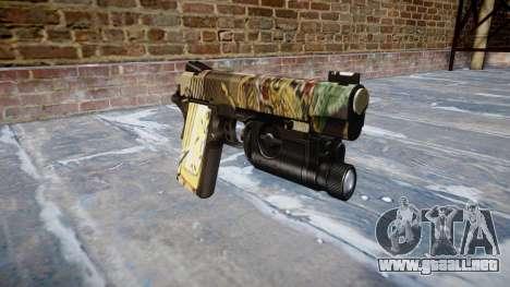 Pistola De Kimber 1911 Ronin para GTA 4