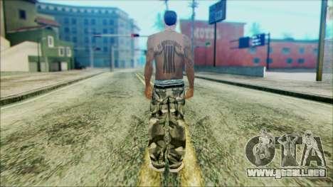 New Cesar para GTA San Andreas segunda pantalla