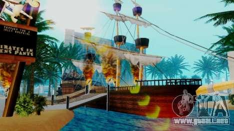 Nuevo barco pirata en Las Venturas para GTA San Andreas