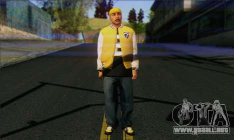 Vagos from GTA 5 Skin 3 para GTA San Andreas