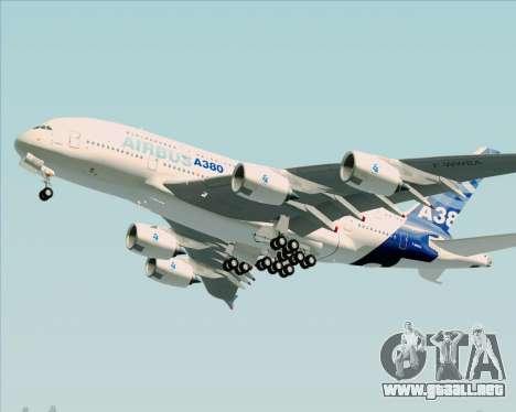 Airbus A380-861 para GTA San Andreas left