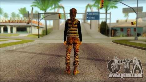 Tomb Raider Skin 1 2013 para GTA San Andreas segunda pantalla
