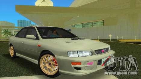 Subaru Impreza WRX STI GC8 Sedan Type 2 para GTA Vice City