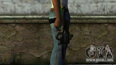 P90 from PointBlank v2 para GTA San Andreas tercera pantalla