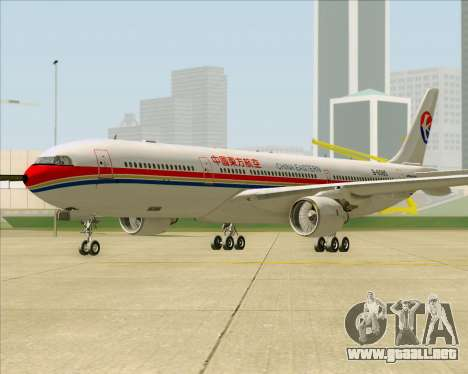 Airbus A330-300 China Eastern Airlines para GTA San Andreas left