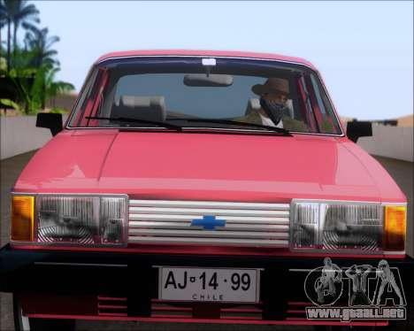 Chevrolet Opala Diplomata 1987 para GTA San Andreas vista hacia atrás