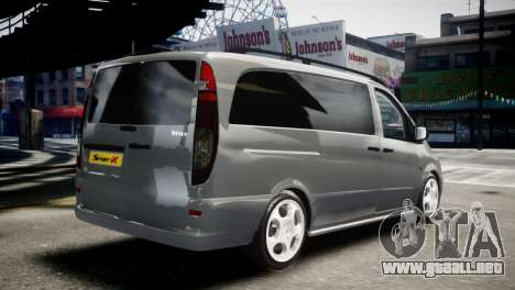 Mercedes-Benz Vito Sport-X para GTA 4 left