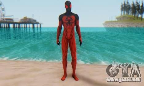 Skin The Amazing Spider Man 2 - Scarlet Spider para GTA San Andreas segunda pantalla