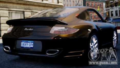 Porsche 911 Turbo para GTA 4 left