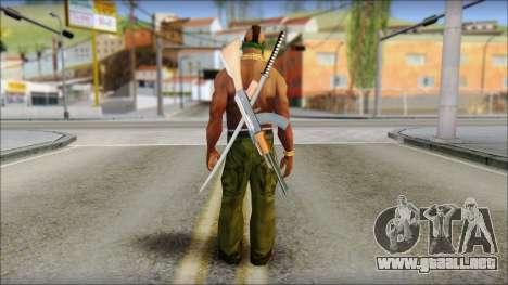 MR T Skin v11 para GTA San Andreas segunda pantalla