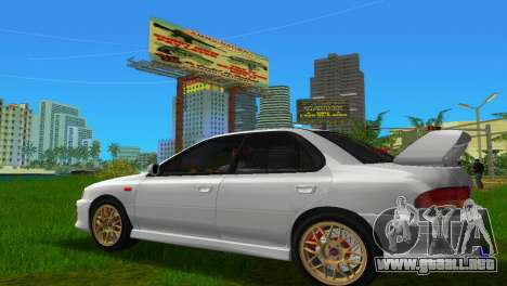 Subaru Impreza WRX STI GC8 Sedan Type 3 para GTA Vice City left