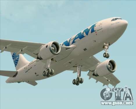Airbus A310-324 Pan American World Airways para vista lateral GTA San Andreas