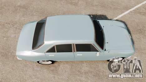 Peugeot 504 para GTA 4 visión correcta