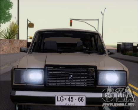 LADA 2107 para las ruedas de GTA San Andreas